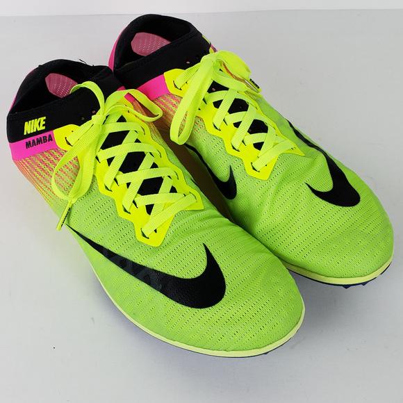 bd6911e45c7c Nike Zoom Mamba 3 OC Racing Track Spikes Size 11.5